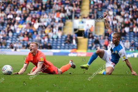 Editorial picture of Blackburn Rovers v Huddersfield Town, EFL Sky Bet Championship, Football, Ewood Park, Blackburn, UK - 19 Oct 2019