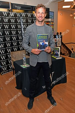 Editorial image of Jenson Button 'How to be a F1 Driver' book signing, London, UK - 17 Oct 2019