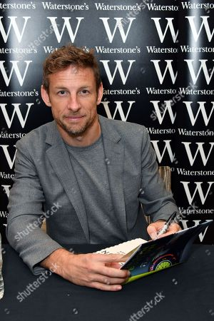 Editorial picture of Jenson Button 'How to be a F1 Driver' book signing, London, UK - 17 Oct 2019