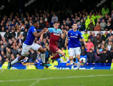 Editorial image of Everton v West Ham United, Premier League, Football, Goodison Park, Liverpool, UK - 19 Oct 2019