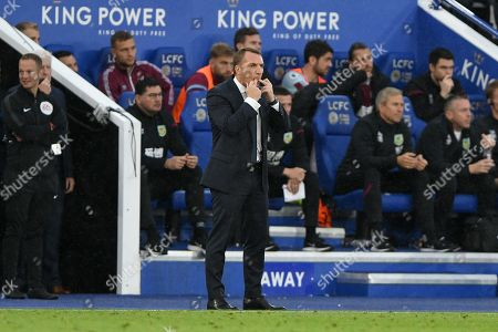 19th October 2019, King Power Stadium, Leicester, England; Premier League, Leicester City v Burnley : Brendan Rodgers, Manager of Leicester City  Credit: Jon Hobley/News Images