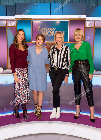 Stock Picture of Christine Lampard, Stacey Solomon, Carol McGiffin and Jane Moore