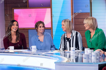 Editorial photo of 'Loose Women' TV show, London, UK - 17 Oct 2019