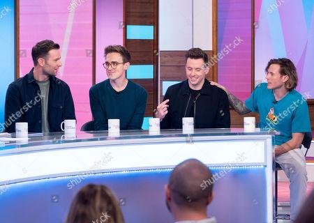 McFly - Tom Fletcher, Danny Jones, Dougie Poynter and Harry Judd