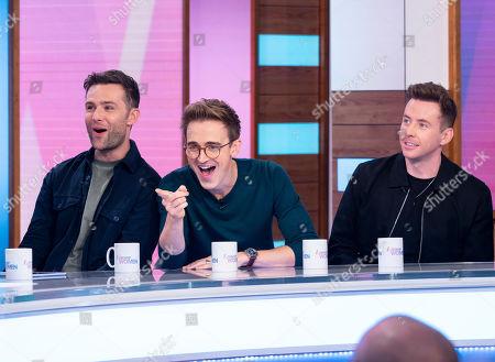 McFly - Tom Fletcher, Danny Jones, and Harry Judd