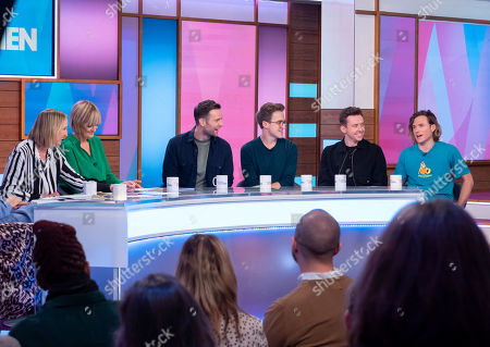 Editorial image of 'Loose Women' TV show, London, UK - 17 Oct 2019