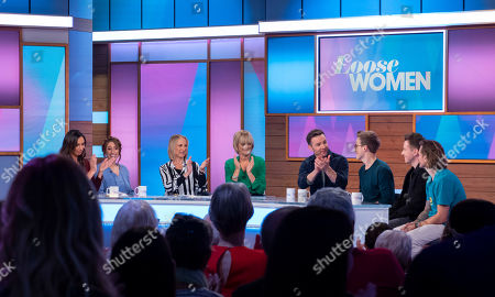 Editorial picture of 'Loose Women' TV show, London, UK - 17 Oct 2019