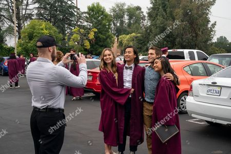 Liana Liberato as McKenna Brady/Jennie Brady, Jordan Rodrigues as Trey Emory, Dylan Sprayberry as Henry Richmond and Brianne Tju as Alex Portnoy