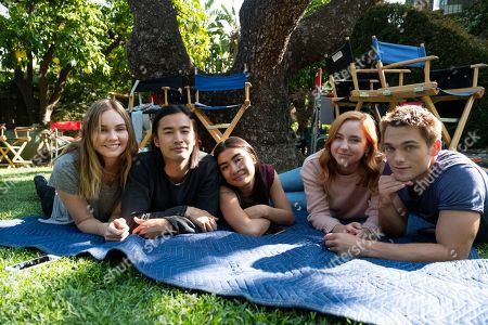 Liana Liberato as McKenna Brady/Jennie Brady, Jordan Rodrigues as Trey Emory, Brianne Tju as Alex Portnoy, Haley Ramm as Violet Simmons and Dylan Sprayberry as Henry Richmond