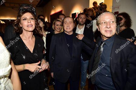 Silvio, Luna and Paolo Berlusconi