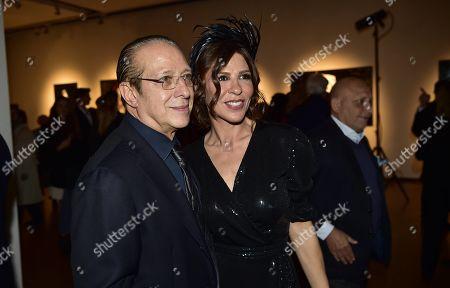 Stock Photo of Luna and Paolo Berlusconi