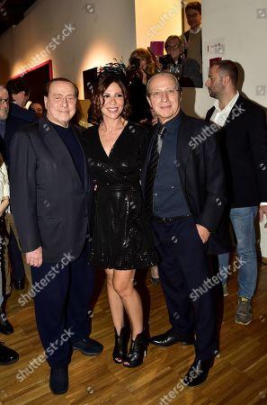 Silvio and Paolo Berlusconi