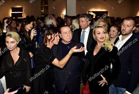 Silvio Berlusconi and Francesca Pascale