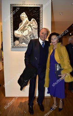 Ennio Doris and Lina Tombolato