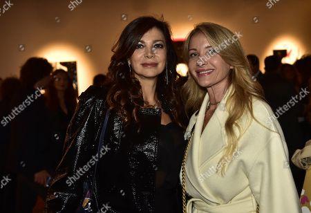 Katia Noventa and Fiorella Rubino
