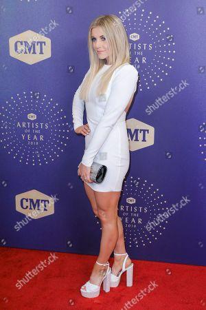 Lindsay Ell arrives at 2019 CMT Artists of the Year at Schermerhorn Symphony Center, in Nashville, Tenn