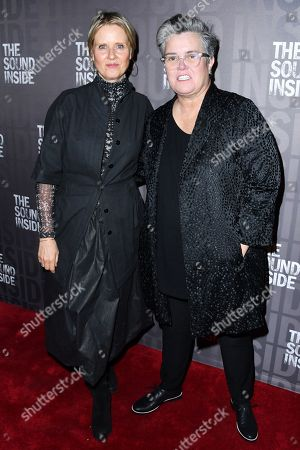 Stock Photo of Cynthia Nixon and Rosie O'Donnell