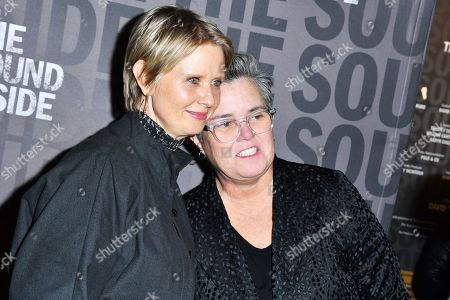 Cynthia Nixon and Rosie O'Donnell