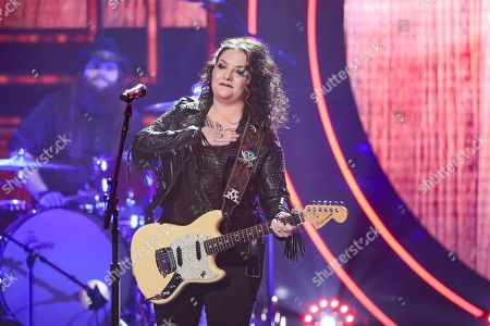 Ashley McBryde performs at 2019 CMT Artists of the Year at Schermerhorn Symphony Center, in Nashville, Tenn