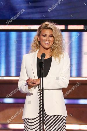Tori Kelly speaks at 2019 CMT Artists of the Year at Schermerhorn Symphony Center, in Nashville, Tenn