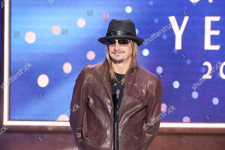 Kid Rock speaks at 2019 CMT Artists of the Year at Schermerhorn Symphony Center, in Nashville, Tenn