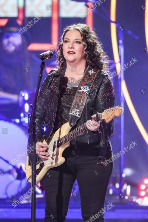 Stock Picture of Ashley McBryde performs at 2019 CMT Artists of the Year at Schermerhorn Symphony Center, in Nashville, Tenn