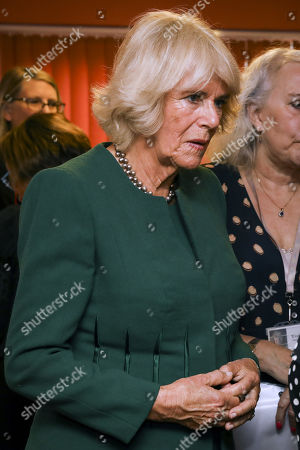 Editorial photo of Camilla Duchess Of Cornwall visit to Sussex, UK - 17 Oct 2019