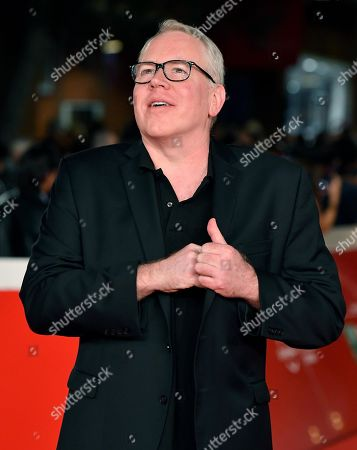 Bret Easton Ellis arrives for the screening of the movie 'Motherless Brooklyn' at the 14th annual Rome Film Festival, in Rome, Italy, 17 October 2019. The film festival runs from 17 to 27 October.