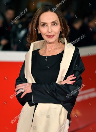 Stock Image of Maria Rosaria Omaggio arrives for the screening of the movie 'Motherless Brooklyn' at the 14th annual Rome Film Festival, in Rome, Italy, 17 October 2019. The film festival runs from 17 to 27 October.