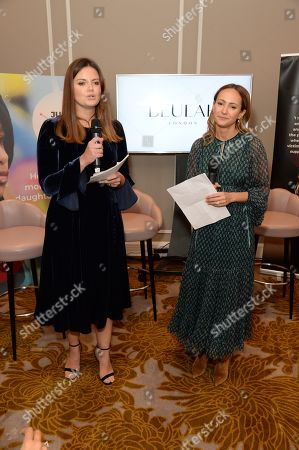 Stock Image of Natasha Rufus Isaacs and Lavinia Richards