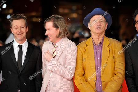 Edward Norton, Wes Anderson, Bill Murray