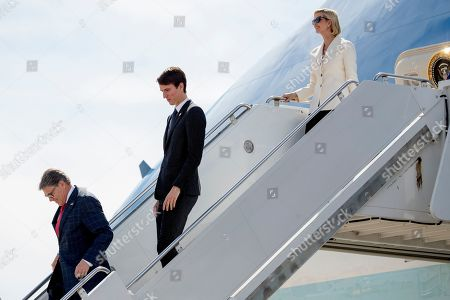 Ivanka Trump, Alexandre Arnault, Rick Perry. From left, Energy Secretary Rick Perry, Alexandre Arnault, the son of Bernard Arnault, chief executive of LVMH, and Ivanka Trump, the daughter of President Donald Trump, step from Air Force One as they arrive with President Donald Trump at Naval Air Station Joint Reserve Base in Fort Worth, Texas