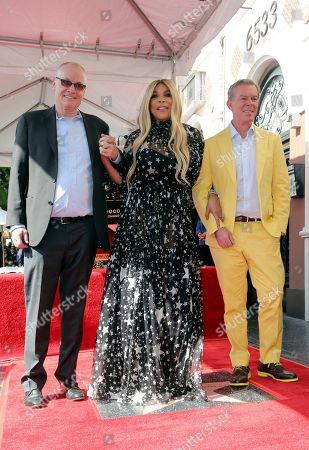 Jack Abernethy, Wendy Williams, Elvis Duran. Jack Abernethy, from left, Wendy Williams and Elvis Duran pose during a ceremony honoring Wendy Williams with a Star on the Hollywood Walk of Fame, in Los Angeles