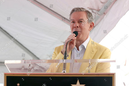 Elvis Duran speaks at a ceremony honoring Wendy Williams with a Star on the Hollywood Walk of Fame, in Los Angeles