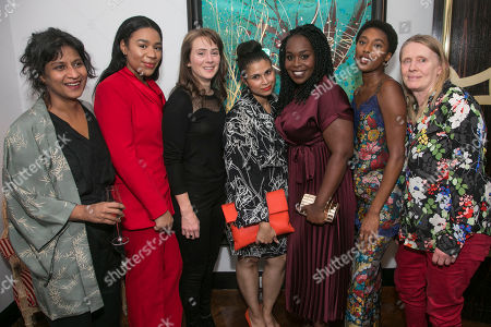 Stock Picture of Thusitha Jayasundera (Thusitha), Shona Babayemi (Shona), Joanna Horton (Joanna), Zainab Hasan (Zainab), Petra Letang (Petra), Sophia Brown (Sophia) and Lucy Edkins (Lucy)