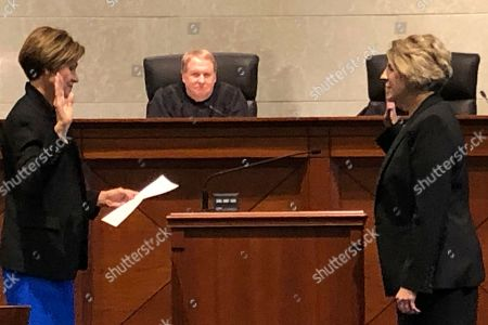 Editorial photo of Judge Nominating Commission, Des Moines, USA - 17 Oct 2019