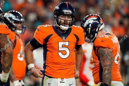 Editorial picture of Chiefs Broncos Football, Denver, USA - 17 Oct 2019