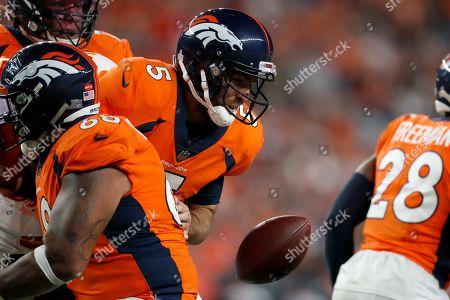 Editorial image of Chiefs Broncos Football, Denver, USA - 17 Oct 2019