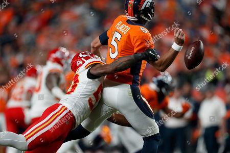 Editorial photo of Chiefs Broncos Football, Denver, USA - 17 Oct 2019