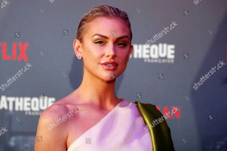Stock Photo of US actress Lala Kent poses during a photocall for the French premiere of the film 'The Irishman' at the Cinematheque Francaise in Paris, France