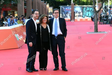 Stock Photo of Ethan Coen, Laura Della Colli and Antonio Monda