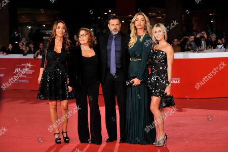 Fausto Brizzi, Claudia Zanella, Valeria Fabrizi, Giorgia Giacobetti and Lorena Cacciatore