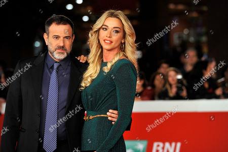 Fausto Brizzi and Claudia Zanella