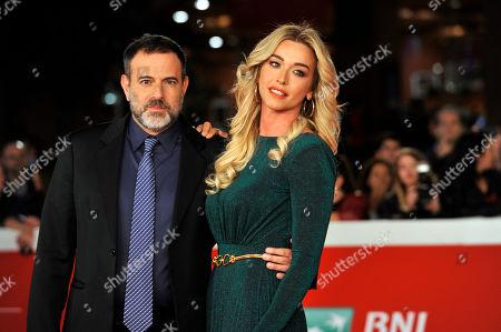Stock Image of Fausto Brizzi and Claudia Zanella