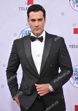 Stock Image of David Zepeda arrives at the Latin American Music Awards, at the Dolby Theatre in Los Angeles