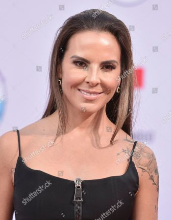 Kate Del Castillo arrives at the Latin American Music Awards, at the Dolby Theatre in Los Angeles