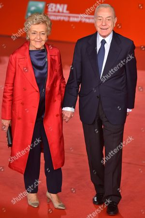 Gianni Letta and wife