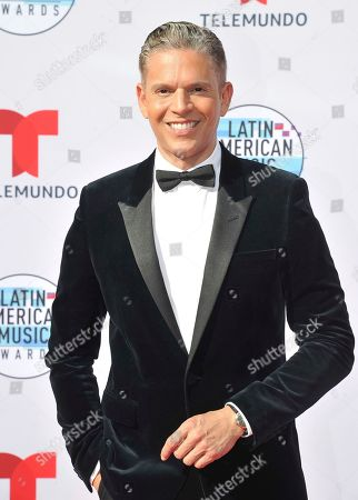 Rodner Figueroa arrives at the Latin American Music Awards, at the Dolby Theatre in Los Angeles