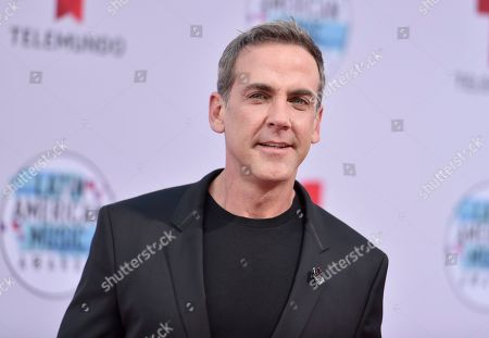 Stock Picture of Carlos Ponce arrives at the Latin American Music Awards, at the Dolby Theatre in Los Angeles