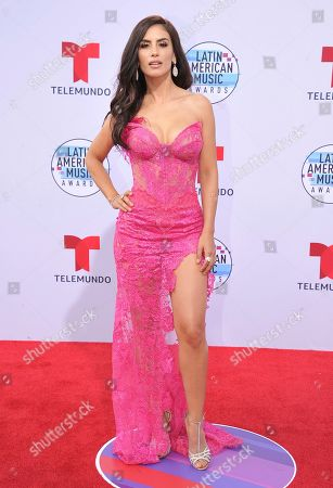 Jessica Cediel arrives at the Latin American Music Awards, at the Dolby Theatre in Los Angeles
